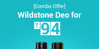 Wildstone deo combo offer price