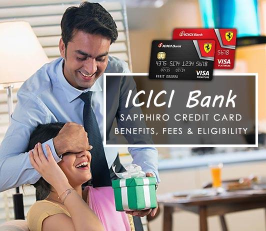 ICICI Bank Sapphiro Credit Card