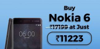 Nokia 6 32 GB Tata CLiQ Offer