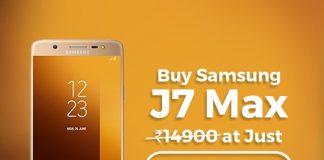 Samsung J7 Max 32 GB Tata CLiQ Offer