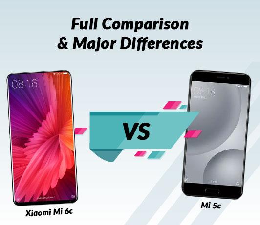 Xiaomi MI 6c vs Xiaomi MI 5c: Full Comparison & Major Differences