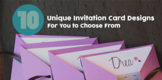 Unique Invitation Card Designs