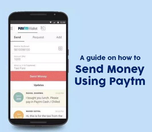 Send Money Through Paytm