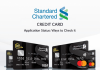 Standard Chartered Credit Card Status Check: How To Track Standard Chartered Bank Credit Card Application Status?