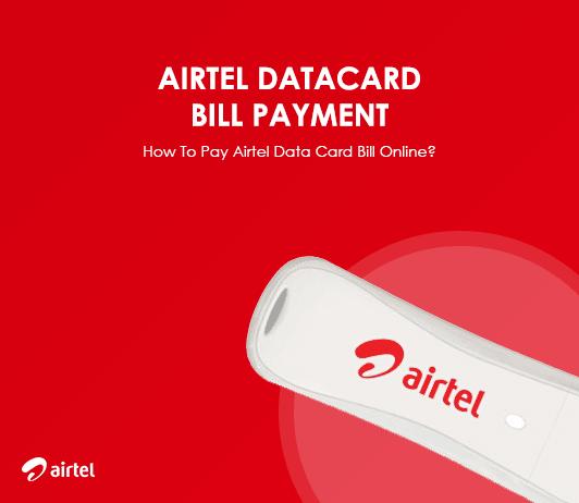 Airtel Hotspot Bill Payment: How to Pay Airtel Dongle Data Card Bill Online?