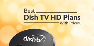 Dish TV Packages HD: Best Dish TV HD Plans With Prices