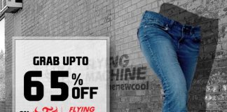 Grab Upto 65% Off On Flying Machine Jeans