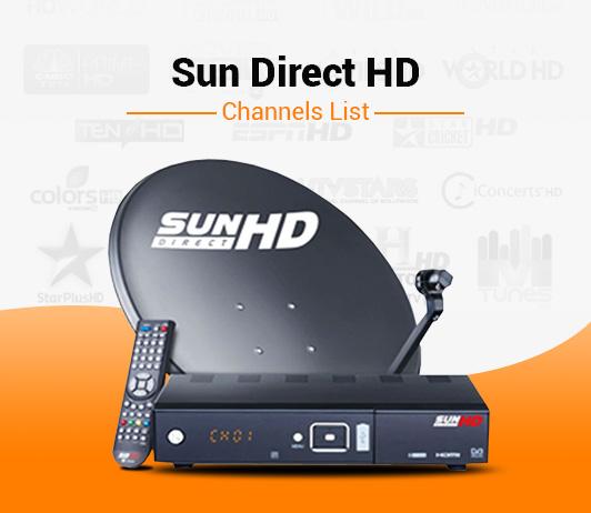 Sun Direct HD Channels List