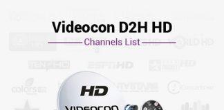 Videocon D2H HD Channels List - Best Videocon D2H HD Packs Channels