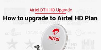 Airtel DTH HD Upgrade: How to upgrade to Airtel DTH HD Plan?