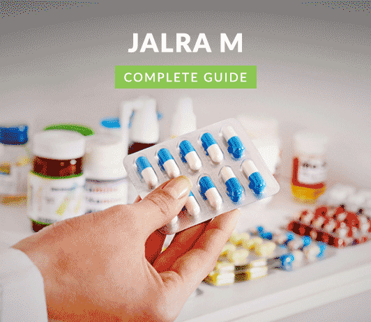 Jalra - M: Uses, Dosage, Side Effects, Price, Composition, Precautions & More