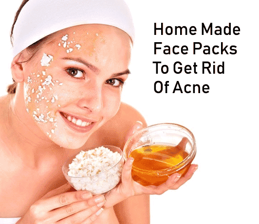 10 Homemade Face Packs To Get Rid of Acne