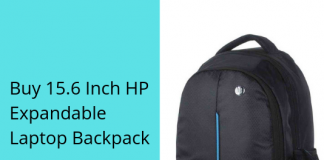 15.6 Inch HP Expandable Laptop Backpack