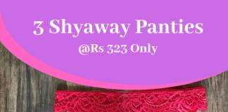 3 Shyaway Panties