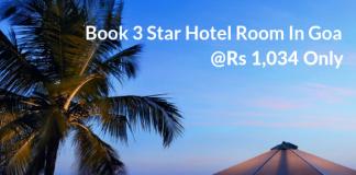 3 Star Hotel Room In Goa