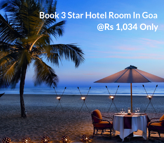 3 Star Hotel Room In Goa