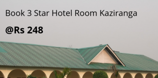3 Star Hotel Room Kaziranga