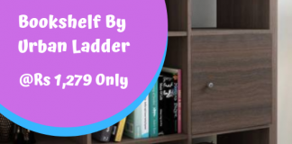 Boeberg Bookshelf By Urban Ladder