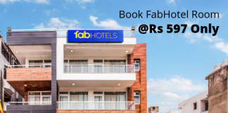 FabHotel Room Offers & Coupons
