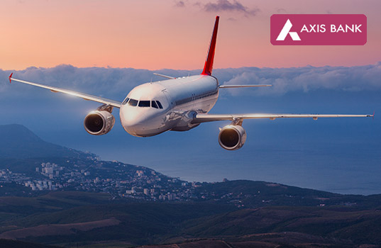 MakeMyTrip Axis Bank Offer All Wednesday