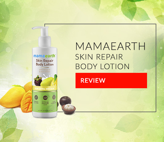 Mamaearth Skin Repair Body Lotion: Review