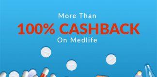 More Than 100% Cashback On Medlife