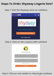 Shyaway Lingerie Sets Offer