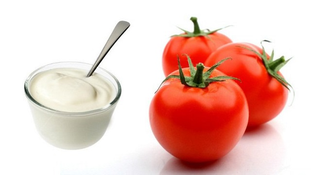 Yogurt & Tomato Juice
