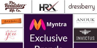 Vogue It With Myntra's Exclusive Brands Portfolio