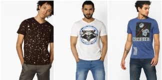 Graphic T-shirts for men offer