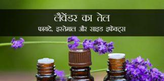 Lavender Oil in Hindi लैवेंडर का तेल: फायदे, इस्तेमाल और साइड इफेक्ट्स