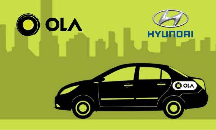 OLA funding by Hyundai in 2019