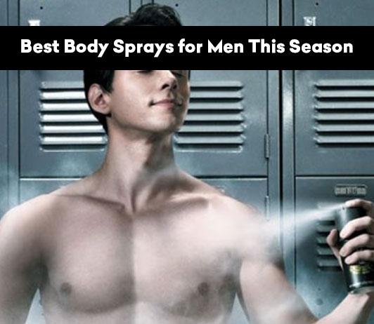 Best Body Sprays for Men This Season