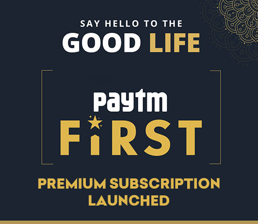 paytm first subscription programme