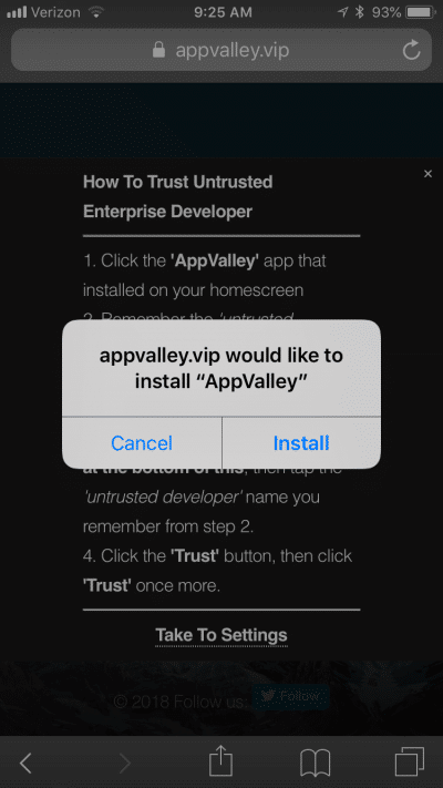 Instal step 2
