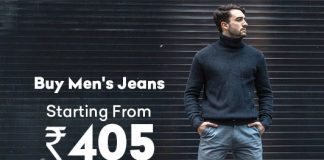 Buy Men's Jeans Starting From Rs. 405/-