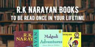 R.K Narayan Books To Be Read Once In Your Lifetime