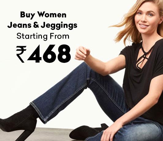 Buy Women Jeans & Jeggings