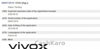 Vivo X Patent Leaked