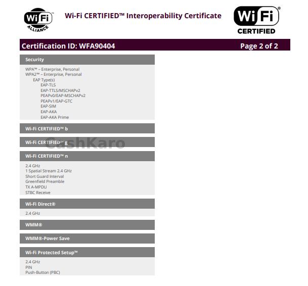 Motorola XT2025-2 Summary