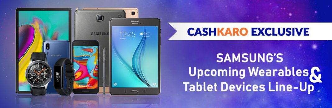 Samsung's Upcoming Wearables & Tablet Devices Line-Up Details