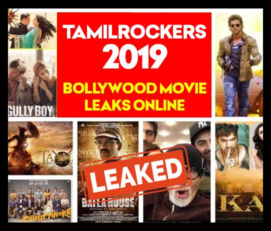 TamilRockers Bollywood Movies Leaked