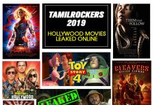 TamilRockers Hollywood Movies Leaked
