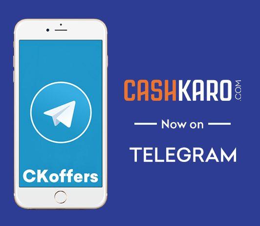 CashKaro on Telegram
