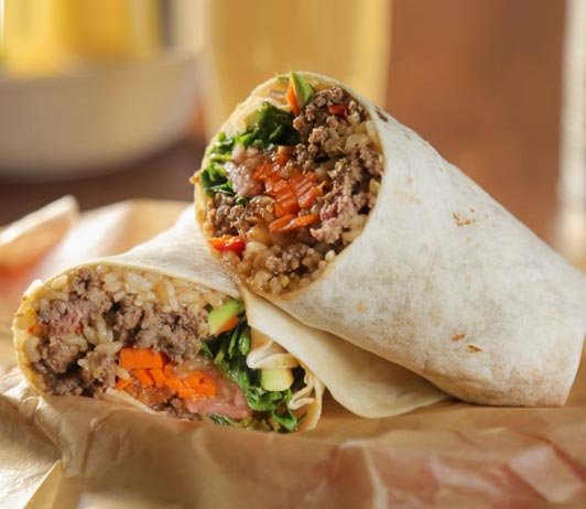 burrito delivery on uber eats