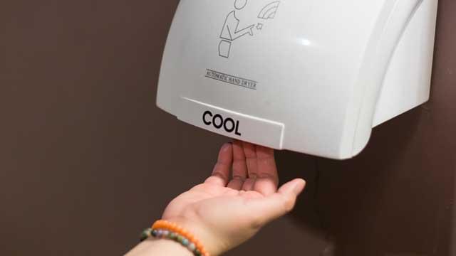 Hand dryers are effective in killing Coronavirus