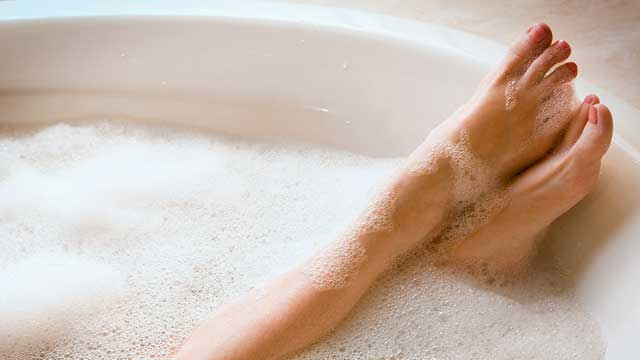 Taking hot baths will prevent you from catching COVID-19