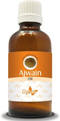 Crysalis Ajwain Oil 100% Natural Pure Undiluted Uncut Essential Oil, 10 ml