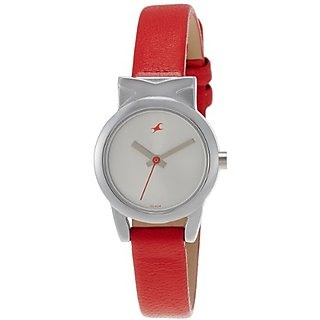 Fastrack 6088Sl02 Fits And Forms Analog Silver Dial Women's Watch (6088Sl02)