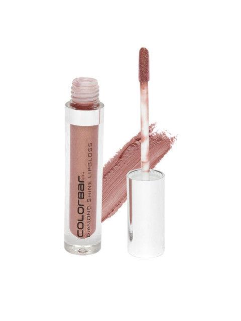Colorbar Brown Girl Diamond Shine Lip Gloss For Women 008, 3.8 ML